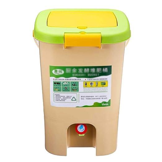 El compost papelera de reciclaje compostador de compost aireado ...
