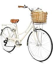 دراجة بلاتينيوم سيتي 26 انش من سبارتان، لون عاجي