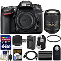 Nikon D7200 Wi-Fi Digital SLR Camera Body with 18-300mm VR Lens + 64GB Card + Backpack + Battery/Charger + Kit Review Review Image