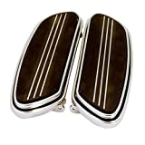 V-Factor Streamliner Styled Chrome Floor Boards Harley-Davidson - 24015