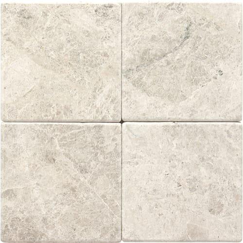 Dal-Tile L75766TS1P- Limestone Tile, Arctic Gray Tumb -  Dal - Tile