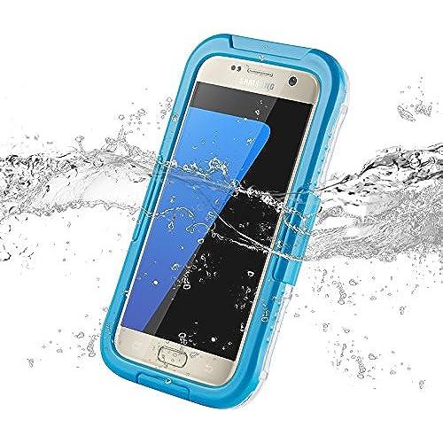 Blue Salamander Waterproof Capsule Case for Samsung Galaxy S7 Edge Sales