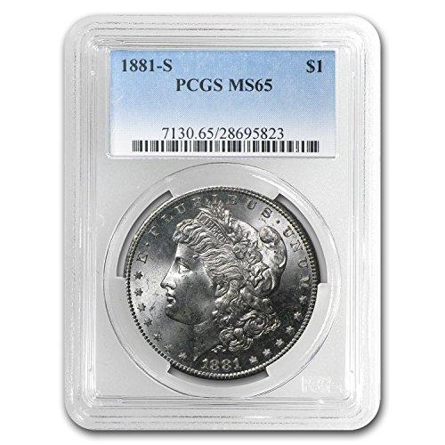 1881 S Morgan Dollar MS-65 PCGS $1 MS-65 PCGS