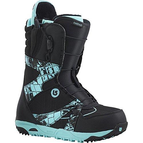 - Burton Emerald Snowboard Boots - Black/Croc, Women's 6.5