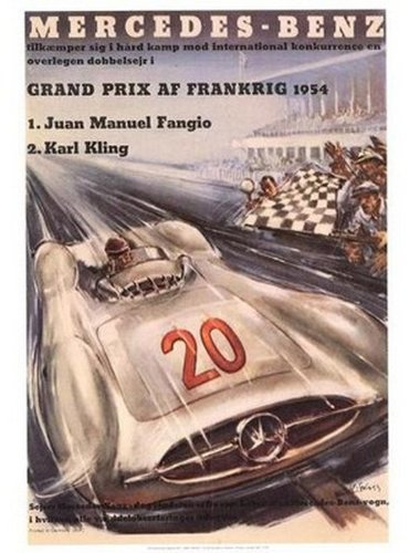 mercedez-benz-french-grand-prix-1954-by-anonymous-27-x-18-1-2-inches-fine-art-print-poster