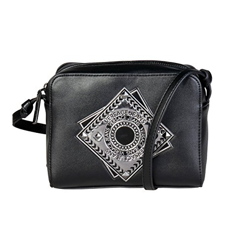 Versace Women Bag Genuine Cross Designer Body Black Jeans Crossbody Bag Women qWt1UBW