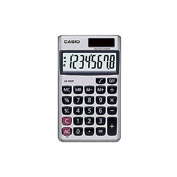 a14485cc644 Calculadora de Bolso 8 Digitos SX300 Preta Casio  Amazon.com.br ...