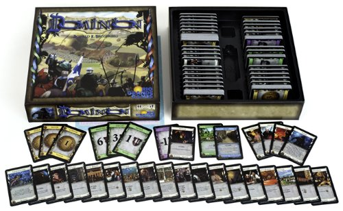 dominion is one of the original deck building games released