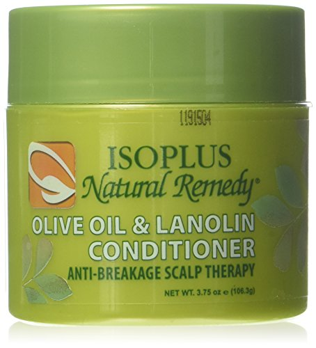 Isoplus Natural Remedy Olive Oil/Lanolin Conditioner, 4 Ounce