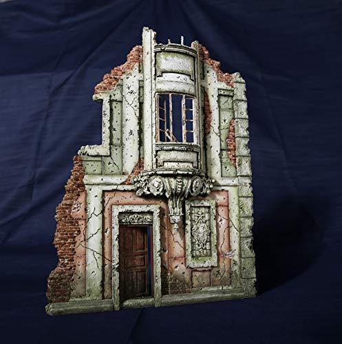 Amazon com: 1:35 Resin Model Kits European Building,Lily Angeler Toy