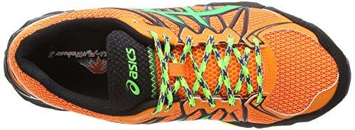 asics Gel-Fujitrabuco 3 - Multisport Outdoor de sintético hombre Naranja - Orange (Flash Orange/Flash Green/Onyx 3085)