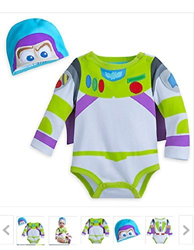 buzz Disney Lightyear Costume Bodysuit For Baby - Size 18-24 Months ()