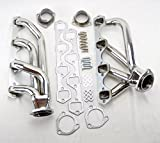 #8: Ford 1964-1977 260 289 302 Shorty Stainless Steel Headers Exhaust Manifolds