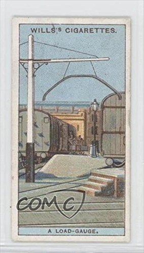 why a Curved Iron hangs over the Rails in many Stations? (Trading Card) 1924 Wills Do You Know Series 2 Tobacco [Base] - Why Iron
