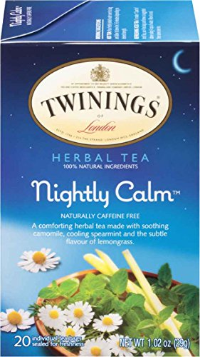 Twinings Of London Nightly Calm Herbal Tea  20 Count  Pack Of 6