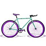 Zycle Fix 48 Inches Bike Fixed Gear Cycle Hornet Leo Pursuit Fixie Bicycle 48''