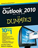 img - for Outlook 2010 All-in-One for Dummies by Jennifer Fulton (2010-07-23) book / textbook / text book