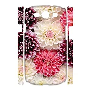 Customized Flower 3D Phone Case, Personalized Hard Back Phone Case for iPod Touch 5 Flower