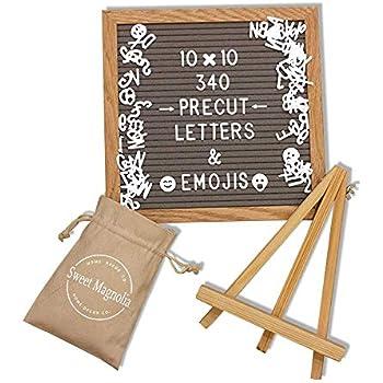 Amazon.com: Cartas de fieltro intercambiables.: Office Products