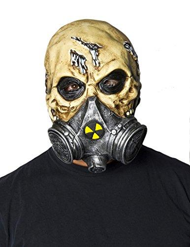Adult Biohazard Mask White -