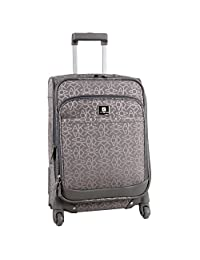Anne Klein Kyoto 20 Inch Expandable Spinner, Grey/Pewter, One Size