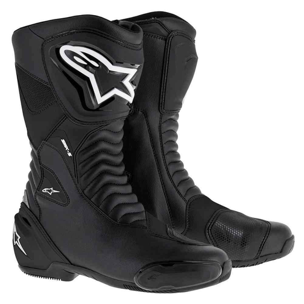 Alpinestars smx-sパフォーマンスRidingメンズMotorcycle Boots – ブラック – 46 B07622C43N