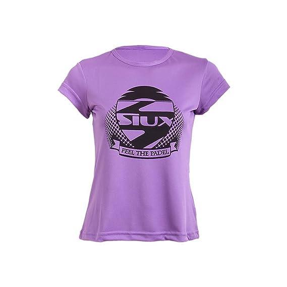 Siux Camiseta Entrenamiento Lila: Amazon.es: Deportes y aire libre