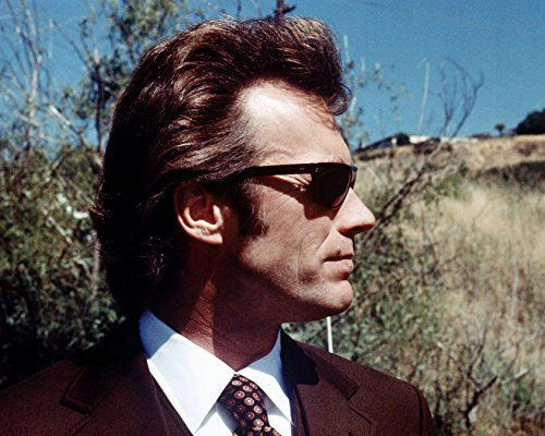 Risnay Clint Eastwood Dirty Harry Classic in Profile with Sunglasses 16x20 ()