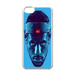 LeBron James King Nike Swoosh Logo Art Head NBA HEAT Cleveland Cavaliers phone case for iPhone 5C case TSL222453