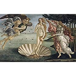 The Birth of Venus ca 1484 Sandro Botticelli (1444-1510 Italian) Tempera on wood panel Galleria degli Uffizi Florence Italy Poster Print (24 x 36)