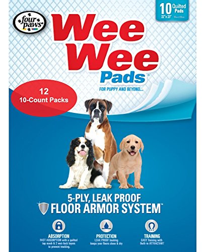Four Paws Wee-Wee Pet Training and Puppy Pads by Four Paws