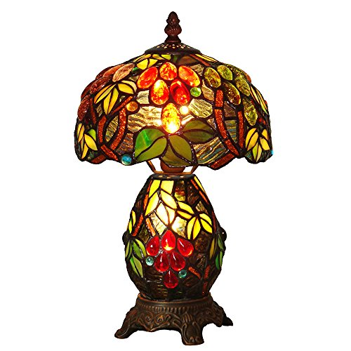 grape tiffany lamp - 2