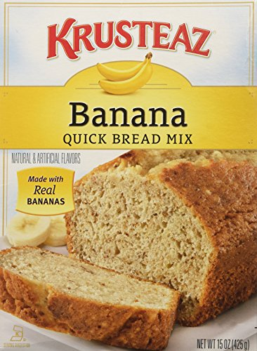 - Krusteaz Banana Quick Bread 15 OZ (Pack of 3)