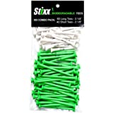 STIXX 33438 Biodegradable Golf Tees (100 Count)
