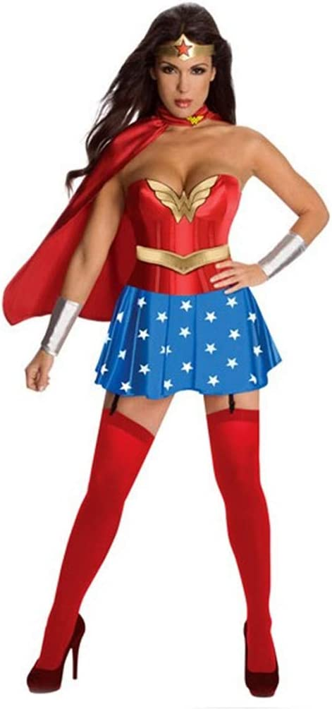 QQWE Wonder Woman Cosplay Superwoman del Super héroe del Combate ...