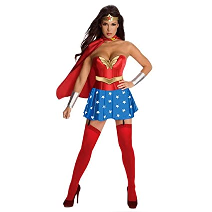QQWE Wonder Woman Cosplay Superwoman del Super héroe del ...