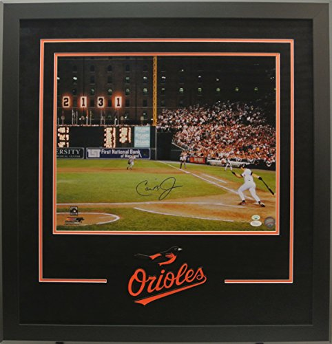 Cal-Ripken-Jr-Signed-16x20-Photo-Deluxe-Framed