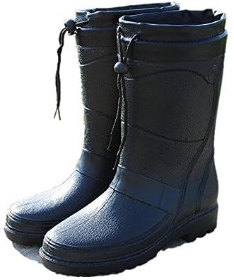 Amazon.com | Adult Menu0026#39;s Antiskid Rubber Sole Waterproof Work Shoes Rain Boots | Rain