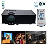 Best GENERIC Hd Home Theater Multimedia Lcd Led Projectors - Kingmak 1080P UC46 Wifi Wireless LCD LED Pro Review