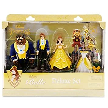 Disney Store Beauty And The Beast Deluxe Figure Fashion Set