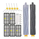 Kupton Replacement Kit for iRobot Roomba 800 & 900 Series Vacuums with 5Pcs Hepa Filter + 5Pcs Side Brush + 2 Tangle-Free Debris Extractor