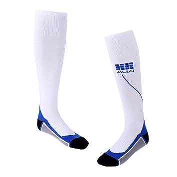 Homyl 1 Set de Calcetines de Compresión Antifatiga Adecuado para Ejercicios Físico de Entrenamiento de Fútbol