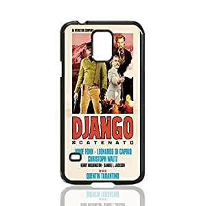 Django Unchained Poster Image Design Hard Back Case cover skin for Samsung Galaxy S5 i9600