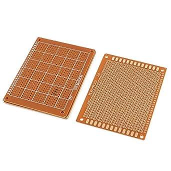 DIY Prototipo de PCB Universal Experimento Matriz de la placa de circuito 9x7cm 4 piezas: Amazon.com: Industrial & Scientific