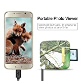 Bestok MicroSD Memory Card Reader Trail Camera Viewer for Android Smartphone Tablets Micro-USB OTG Smart Phone to View Deer Hunting Game Cam Photo & Video No App Needed Connection