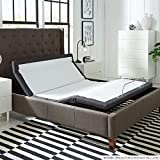 Adjustable Bed Frame with Head Tilt, Massage, Anti-Snore, Zero Gravity, Dual USB Charging Station,...