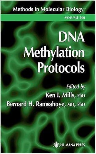 Download online DNA Methylation Protocols (Methods in Molecular Biology) PDF, azw (Kindle), ePub, doc, mobi