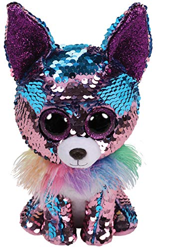 "Ty Flippables YAPPY - The Blue/Purple Sequin Chihuahua - 6"" from Ty"
