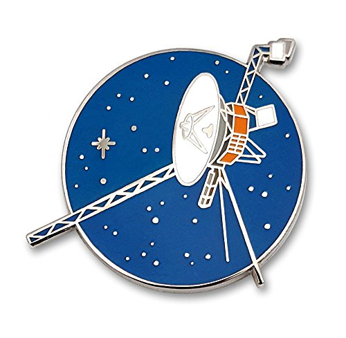 Pinsanity Voyager Space Probe Enamel Lapel Pin