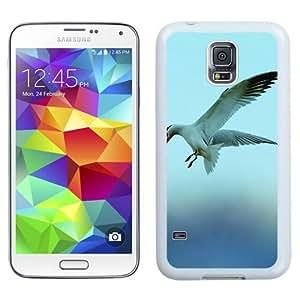 New Beautiful Custom Designed Cover Case For Samsung Galaxy S5 I9600 G900a G900v G900p G900t G900w With Seagull 5 (2) Phone Case